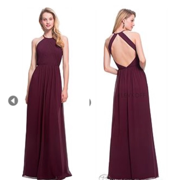4b9de5f31b Bill Levkoff Dresses   Skirts - Bill Levkoff Bridesmaids dress 7023 Plum